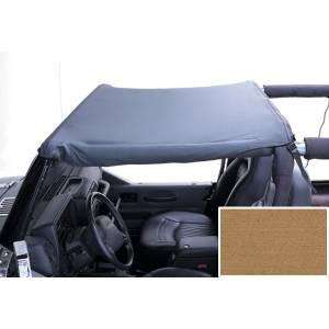 Exterior - Soft Tops - Rugged Ridge - Rugged Ridge Summer Brief Header, Spice; 97-06 Jeep Wrangler TJ 13580.37