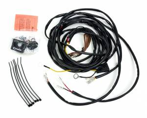 Electrical - Switches & Panels - KC HiLiTES - KC HiLiTES Universal Wiring Harness for 2 Cyclone LED Lights - #63082 63082
