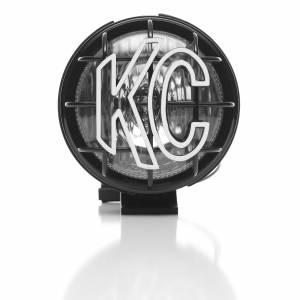 "KC HiLiTES - KC HiLiTES 5"" Apollo Pro Halogen - Black - KC #1451 (Spread Beam) 1451 - Image 3"
