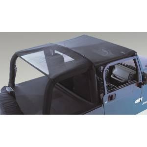 Rugged Ridge Mesh Roll Bar Top; 92-95 Jeep Wrangler YJ 13577.01