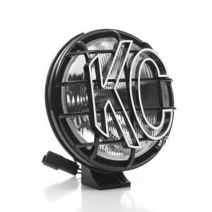 "KC HiLiTES - KC HiLiTES 6"" Apollo Pro Halogen - Black - KC #1151 (Spread Beam) 1151 - Image 2"