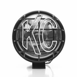 "KC HiLiTES - KC HiLiTES 6"" Apollo Pro Halogen - Black - KC #1151 (Spread Beam) 1151 - Image 3"