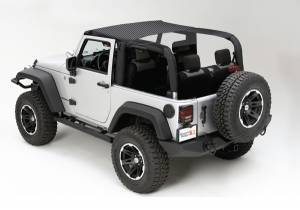 Exterior - Soft Tops - Rugged Ridge - Rugged Ridge Mesh Summer Brief; 10-16 Jeep Wrangler JK 13579.12