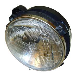 Lighting - Cab & Marker Lights - Omix-Ada - Omix-Ada Headlight Assy with Bulb LH; 97-06 Jeep Wrangler TJ 12402.03