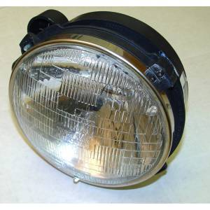 Lighting - Headlights - Omix-Ada - Omix-Ada Headlight Assy with Bulb RH; 97-06 Jeep Wrangler TJ 12402.04