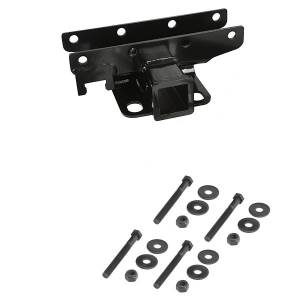 Towing Accessories - Receiver Hitches - Rugged Ridge - Rugged Ridge 2-Inch Receiver Hitch; 07-16 Jeep Wrangler JK 11580.10