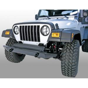 Body Armor - Rocker Armor & Accessories - Rugged Ridge - Rugged Ridge Front Fender Guards, Body Armor; 97-06 Jeep Wrangler TJ 11650.20