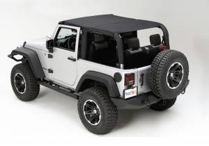 Exterior - Soft Tops - Rugged Ridge - Rugged Ridge Mesh Island Top; 10-16 Jeep Wrangler JK 13579.11