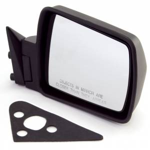 Exterior - Fenders & Accessories - Omix-Ada - Omix-Ada Black Manual Right Side Mirror; 84-96 Jeep Cherokee XJ 12035.08