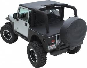 Tonneau Covers & Accessories - Bed Covers - Smittybilt - Smittybilt Tonneau Cover 761235