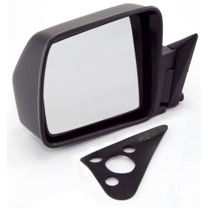 Exterior - Misc. Accessories - Omix-Ada - Omix-Ada Black Manual Left Side Mirror; 84-96 Jeep Cherokee XJ 12035.09