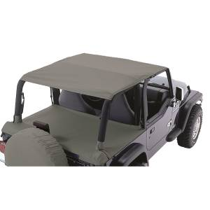 Exterior - Soft Tops - Rugged Ridge - Rugged Ridge Header Roll Bar Top, Khaki Diamond; 97-06 Jeep Wrangler TJ 13581.36