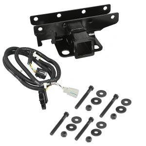 Towing Accessories - Accessories - Rugged Ridge - Rugged Ridge Receiver Hitch Kit with Wiring Harness; 07-16 Jeep Wrangler JK 11580.51