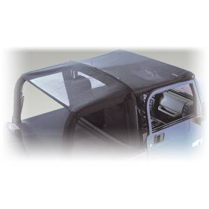 Exterior - Soft Tops - Rugged Ridge - Rugged Ridge Mesh Roll Bar Top, 2 Door; 07-09 Jeep Wrangler JK 13579.01