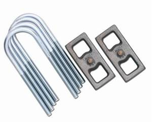Rubicon Express - Rubicon Express Block And U-Bolt Kit RE1210