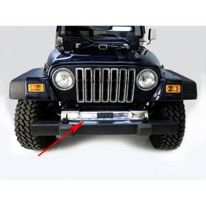 Exterior - Frame & Parts - Rugged Ridge - Rugged Ridge Front Frame Cover, Stainless Steel; 97-06 Jeep Wrangler TJ 11120.03