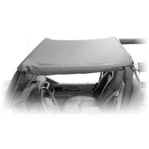 Exterior - Soft Tops - Rugged Ridge - Rugged Ridge Pocket Brief Top, Black Diamond; 07-09 Jeep Wrangler JK 13587.35