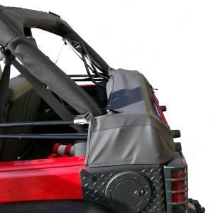 Exterior - Soft Tops - Rugged Ridge - Rugged Ridge Soft Top Storage Boot, Black Diamond; 07-16 Jeep Wrangler JK 4-Door 12104.51