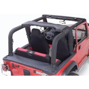 Interior - Roll Cages - Rugged Ridge - Rugged Ridge Full Roll Bar Cover Kit; 92-95 Jeep Wrangler YJ 13611.15