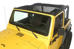 Exterior - Soft Tops - Rugged Ridge - Rugged Ridge Eclipse Sun Shade, Full Cover; 97-06 Jeep Wrangler TJ 13579.08