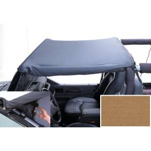 Exterior - Soft Tops - Rugged Ridge - Rugged Ridge Pocket Brief Top, Spice; 92-95 Jeep Wrangler YJ 13584.37