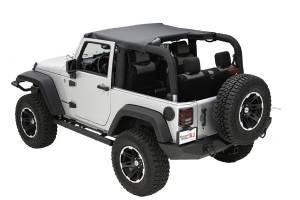 Exterior - Soft Tops - Rugged Ridge - Rugged Ridge Pocket Brief, Black Diamond; 10-16 Jeep Wrangler JK 13590.35