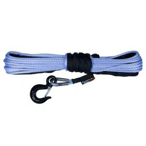 Recovery - Winch Lines - Rugged Ridge - Rugged Ridge Synthetic Winch Line, 1/4 Inch X 50 feet 15102.31