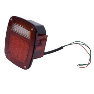 Lighting - Tail Lights - Rugged Ridge - Rugged Ridge LED Tail Light Assembly, Right Side; 76-06 Jeep CJ/Wrangler YJ/TJ 12403.82