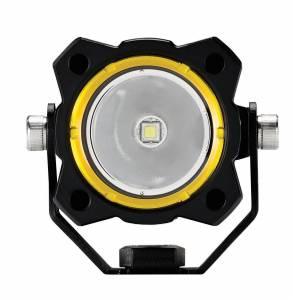 KC HiLiTES - KC HiLiTES KC FLEX Single LED Light (ea) - Spot Beam - KC #1270 1270 - Image 2