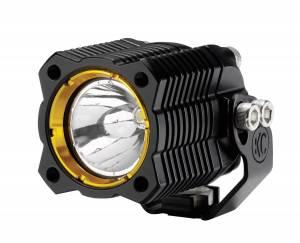 KC HiLiTES - KC HiLiTES KC FLEX Single LED Light (ea) - Spot Beam - KC #1270 1270 - Image 4