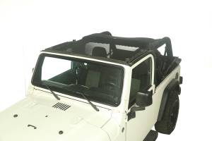 Exterior - Soft Tops - Rugged Ridge - Rugged Ridge Eclipse Sun Shade, Full Cover; 04-06 Jeep Wrangler LJ 13579.09