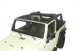 Rugged Ridge Eclipse Sun Shade, Full Cover; 04-06 Jeep Wrangler LJ 13579.09
