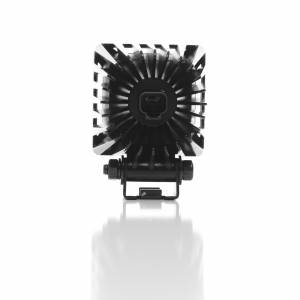 "KC HiLiTES - KC HiLiTES 3"" LZR LED Cube Single Light - Black - KC #1310 (Spot Beam) 1310 - Image 1"