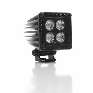 "KC HiLiTES - KC HiLiTES 3"" LZR LED Cube Single Light - Black - KC #1310 (Spot Beam) 1310 - Image 2"