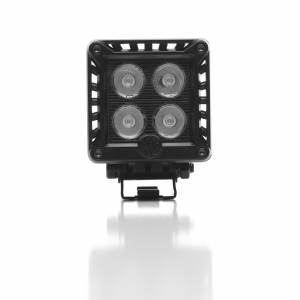"KC HiLiTES - KC HiLiTES 3"" LZR LED Cube Single Light - Black - KC #1310 (Spot Beam) 1310 - Image 3"