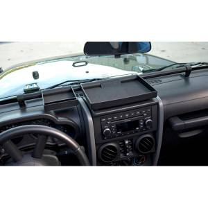 Exterior - Soft Tops - Rugged Ridge - Rugged Ridge Dash Organizer Tray; 07-10 Jeep Wrangler JK 13551.10