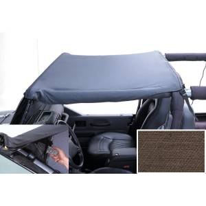 Exterior - Soft Tops - Rugged Ridge - Rugged Ridge Pocket Brief Top, Khaki Diamond; 97-06 Jeep Wrangler TJ 13585.36