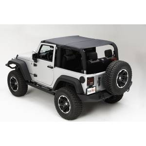 Exterior - Soft Tops - Rugged Ridge - Rugged Ridge Island Topper, Black Diamond; 07-09 Jeep Wrangler JK 13588.35