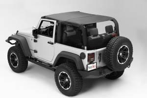 Exterior - Soft Tops - Rugged Ridge - Rugged Ridge Pocket Island Topper, Black Diamond; 10-16 Jeep Wrangler JK 13591.35