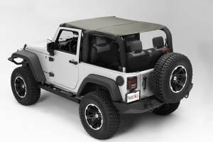 Exterior - Soft Tops - Rugged Ridge - Rugged Ridge Pocket Island Topper, Khaki Diamond; 10-16 Jeep Wrangler JK 13591.36