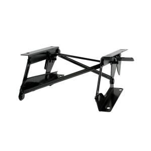 Tonneau Covers & Accessories - Truck Bed Accessories - Rugged Ridge - Rugged Ridge Driver Side Fold Forward Seat Riser Bracket; 76-95 Jeep CJ/Wrangler YJ 13201.01