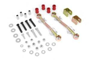 Steering - Track Bars - Rugged Ridge - Rugged Ridge Front Sway Bar End Links, 4 Inch Lift; 97-06 Jeep Wrangler TJ 18320.01