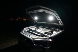 KC HiLiTES - KC HiLiTES Cyclone LED 2-Light Universal Under Hood Lighting Kit - KC #355 355 - Image 3