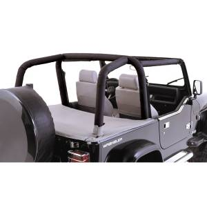 Interior - Roll Cages - Rugged Ridge - Rugged Ridge Full Roll Bar Cover Kit; 97-02 Jeep Wrangler TJ 13612.15