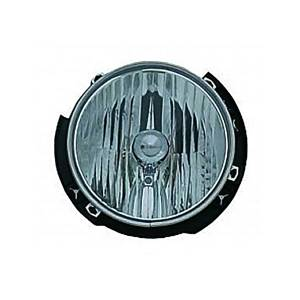 Lighting - Headlights - Omix-Ada - Omix-Ada Left Headlight Assembly; 07-16 Jeep Wrangler JK 12402.21