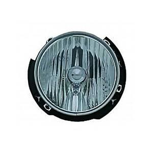 Omix-Ada Left Headlight Assembly; 07-16 Jeep Wrangler JK 12402.21