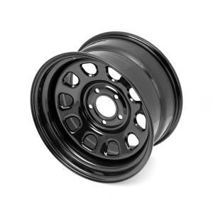 Wheels & Tires - Wheels - Rugged Ridge - Rugged Ridge D Window Wheel, 17x9, Black, 5x5 15500.70