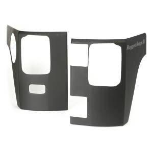 Body Armor - Rocker Armor & Accessories - Rugged Ridge - Rugged Ridge Rear Corner Kit, Body Armor, 2 Door; 07-16 Jeep Wrangler JK 11651.07