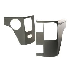 Body Armor - Rocker Armor & Accessories - Rugged Ridge - Rugged Ridge Rear Corner Kit, Body Armor, 4 Door; 07-16 Jeep Wrangler JK 11651.09