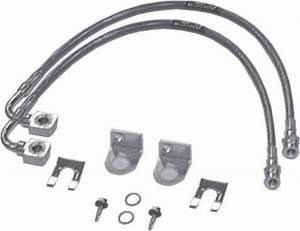 Axle Parts - Brakes - Rubicon Express - Rubicon Express Brake Line Set RE1530